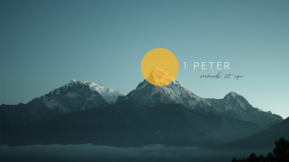 1 Peter: Mark it Up