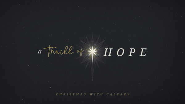 The Fulfillment of Hope Image