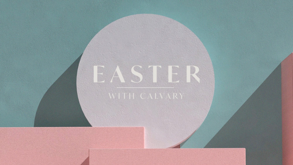 Easter with Calvary